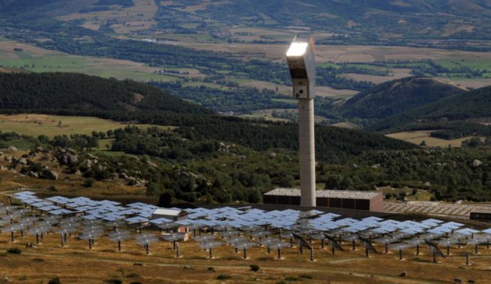 Centrale solaire de Thémis